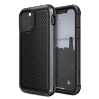 Чехол X-Doria Defense Lux для iPhone 11 Pro Чёрный карбон