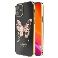 Чехол Kingxbar Butterfly для iPhone 12 mini Золотой