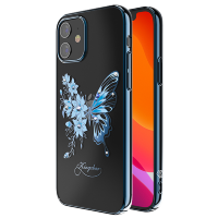 Чехол Kingxbar Butterfly для iPhone 12 mini Синий